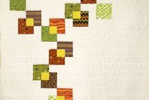 Modern Quilts / Modern quilts, negative space, easy quilts, 3d quilts