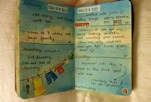 journals / by Emily Brinskelle
