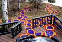 Crochet grafitti / by Chrissie Moring