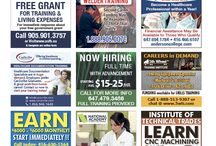 EmploymentNews.com / Since 1988, Employment News has connected employers and job seekers. Copies of our four weekly GTA editions and one bi-weekly Ottawa edition are available, free of cost, at thousands of locations across these regions. With a history spanning over 28 years, Employment News has become a recognizable and reliable brand for local recruitment.