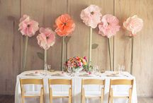 Wedding: Inspiration Board / Rustic wedding with pale pink/orange accent
