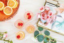 Lingerie Bridal Shower Inspiration / Ideas for hosting a lingerie bridal shower. #lingerie #bridalshower