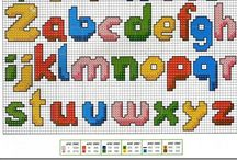 1-Cross stitch alphabets