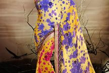 Floral Fantasy / Breeze through your day in these elegant floral print georgette sarees. Shop this floral fantasy at www.cbazaar.com / by Cbazaar - Delivering Happiness