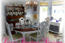 A Shabby Chic Home / Ideas for creating a comfortable, cozy, shabby chic inspired cottage style home with unique whimsical decor items and vintage treasures.