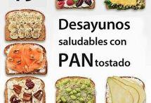 Ideas  Desayuno,Comida, Cena..
