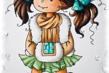 Ilustraciones de chicas