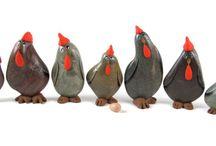 Galets poules