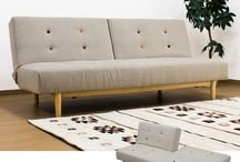 sofabed  ソファベッド / by Original design momu K.Isagawa
