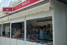 Feria del Libro de Málaga / Exlibric participa en la Feria del Libro de Málaga con su expositor número 16 de Grupo IC