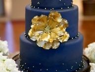 Golden Cake Birthday