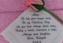 wedding ideas / by Melody Garrett