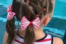 penteados criancas