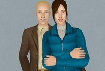 Sims - 3t2 - Aurora Skies