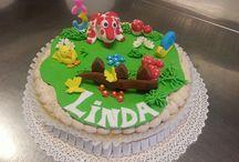 Cake design / Le mie creazioni con la pasta di zucchero. My creations made of sugar dough.