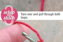 Tutorials crochet stitches