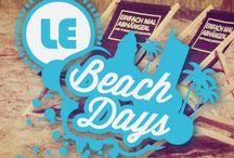 LE Beach Days / Sport + Musik + Fun + Beach - in einem ganz besonderem Flair