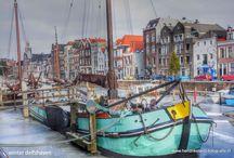 Winter in Delfshaven / Winterplaatjes in Rotterdam