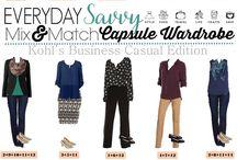 Wardrobe essentials / How to create a complete fashion wardrobe