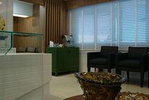 Clinica de Cirurgia Plástica / Projeto de interiores para adaptar a sala comercial em clínica médica de acordo com a legislação .