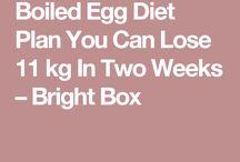 eier dieet