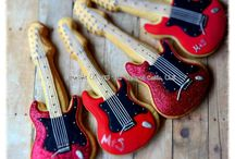 Rock and Pop Star Cookies