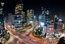 Night Views of Korea / Beautiful lights of cities enlightened up like stars / by Korea Tourism Organization, NY