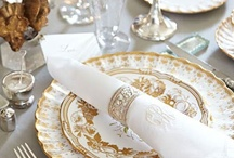Lovely tables set with Sterling