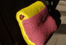 Free patterns - knitted and crochet home accessories