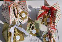 Inspiratie voor tasjes en doosjes / Tasjes en doosjes zijn geweldig leuk om te maken. Hier verzamelt Het Knutsellab de mooiste creaties.