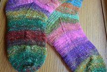 Ponožky pletení