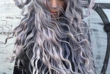 Black, Gray, White & Natural color