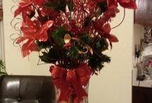 vianočné vázy