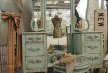 Home Style ~ vintage and shabby chic