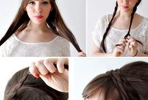 Thick Hair - Styling Ideas