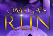 Omega's Run - Moon Forged Book II / The second title in the Moon Forged Trilogy by A.J. Downey and Ryan Kells.