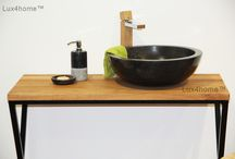 Black marble bathroom sink - black washbasin / Black marble bathroom sink - black washbasin Gemma 501. We manufacture black marble sinks. The Gemma 501 model is also available with a diameter of 35 cm, 40 cm, 45 cm and 50 cm. The black stone basin sinks meet all quality standards. We are looking for Importers, Designers, Wholesalers, Shops and e-shops to cooperation.