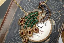 wire wrapping: beaded