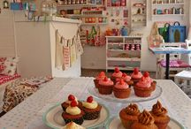 salons de tea-cupcakes