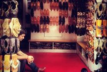 Kolhapuri Chappals / Kolhapuri Chappals are Traditional Footwear widely used in India and around globe. They are purely made up of leather and handwoven. The Chappals having vast health related advantages, are used for earthing excessive heat from body especially.