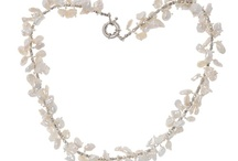 Pearl Necklaces / Most fashion pearl necklace styles at saintchristine.com online jewelry stores. / by saint christine