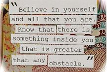 Positive Quotes / Find something positive everyday