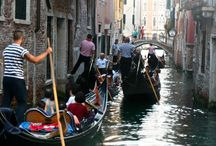 Canals in Venice / Venice from the water