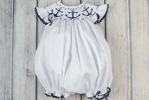 Baby Girl Bubbles & Rompers / Classic and traditional baby girl bubbles and rompers to wear for special occasions or anytime.