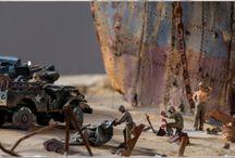 II Wojna Światowa - Diorama
