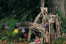 Fairies and fairy houses / by Debbie S