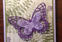 Butterfly Basics Stampin' Up! stamp Set Greeting Cards