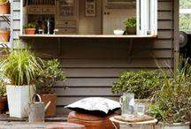 verandah. / Glorious outdoor comfort.