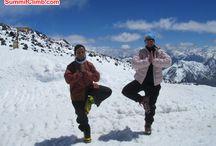 "Join us www.elbrussummitclimb.com. Only 3 places remain / SummitClimb's #Everest and Cho Oyu teams BOTH summit! Mount #Elbrus, Europe's 7-Summit. Only 3 places remain."" Join us www.elbrussummitclimb.com."