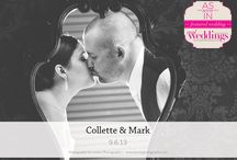 Featured Real Wedding: Collette & Mark {from the Summer/Fall 2014 Issue of Real Weddings Magazine} / Collette & Mark-Featured Real Wedding from the Summer/Fall 2014 issue of Real Weddings Magazine, www.realweddingsmag.com. Photos by and copyright Lixxim Photography, www.lixximphotography.com; Cake by Sweet Cakes by Rebecca, www.sweetcakes.biz. See entire post here: http://www.realweddingsmag.com/featured-real-wedding-collette-mark-from-the-summerfall-2014-issue-of-real-weddings-magazine/